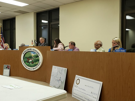 Middlesboro's First city council meeting gets heated