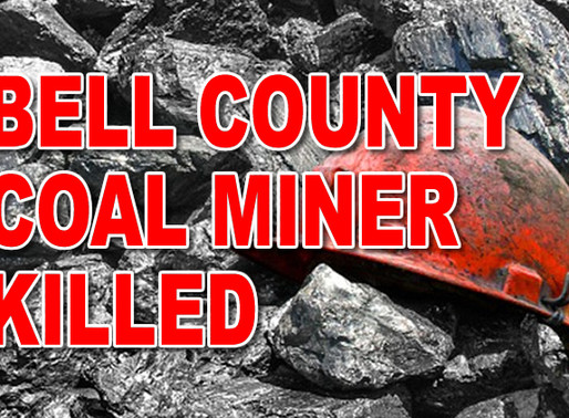 Bell County coal miner killed at Double Mountain Mining, investigation opened