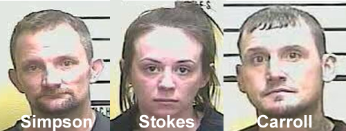 Three in the same vehicle arrested at Middlesboro DUI checkpoint