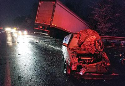One person killed in crash on     I-75 near Corbin Tuesday