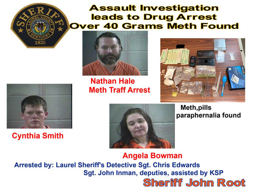 Assault investigation leads to huge meth bust