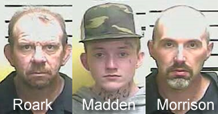 Two arrested for burglary of Middlesboro business, a third arrest during traffic stop