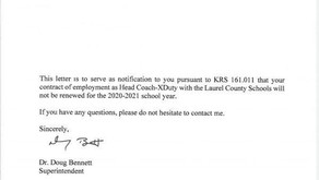 Laurel County coaches, band directors receive pink slips