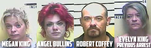 Four in Middlesboro charged with drug trafficking after several complaints from neighborhood