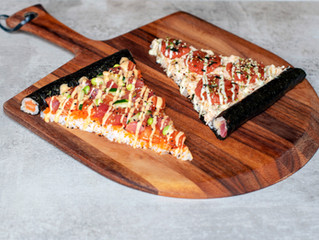 Sushi Pizza Goes Viral on Tastemade!