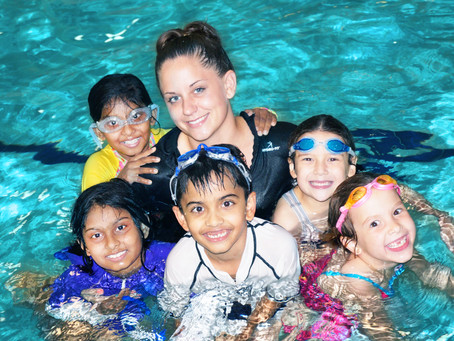 Everyone Benefits from Year - Round Swimming Lessons