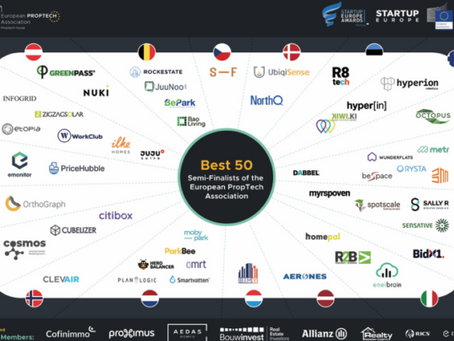 NRGIZE startups semi-finalists in The PropTech Startup and Scale-up Europe Awards 2021
