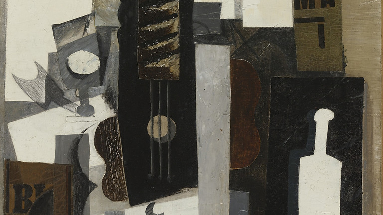 'Picasso's Guitar and Bottle ' Evening Workshop
