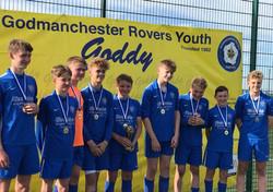 U14 winners - Goddy Rovers U14 whites