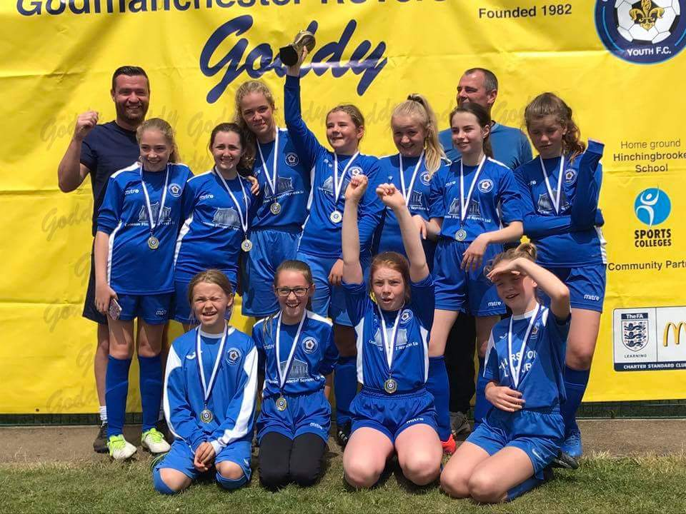 U11_12 Girls winners - Goddy Rovers U12 Blues Girls