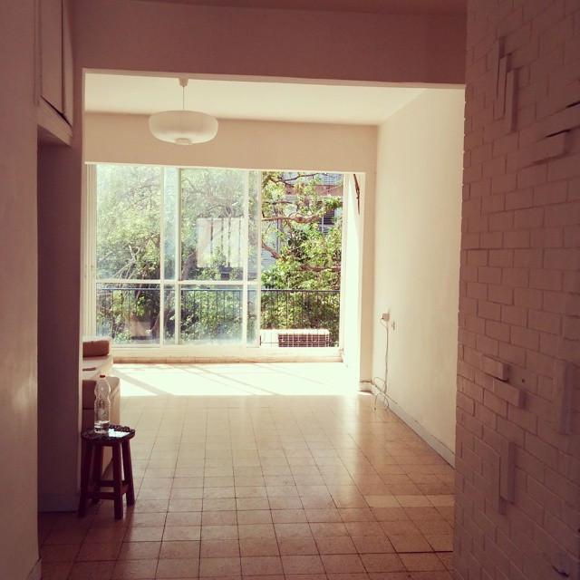 הדירה שלנו, לפני שעברנו