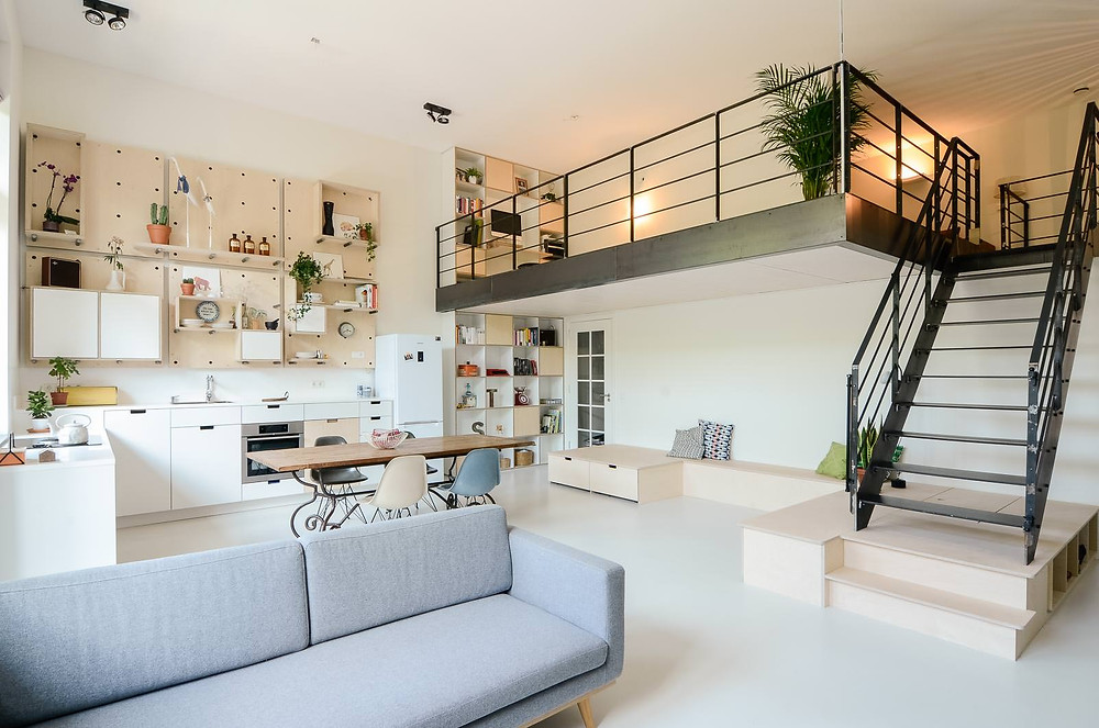 Standard Studio Amsterdam Living space