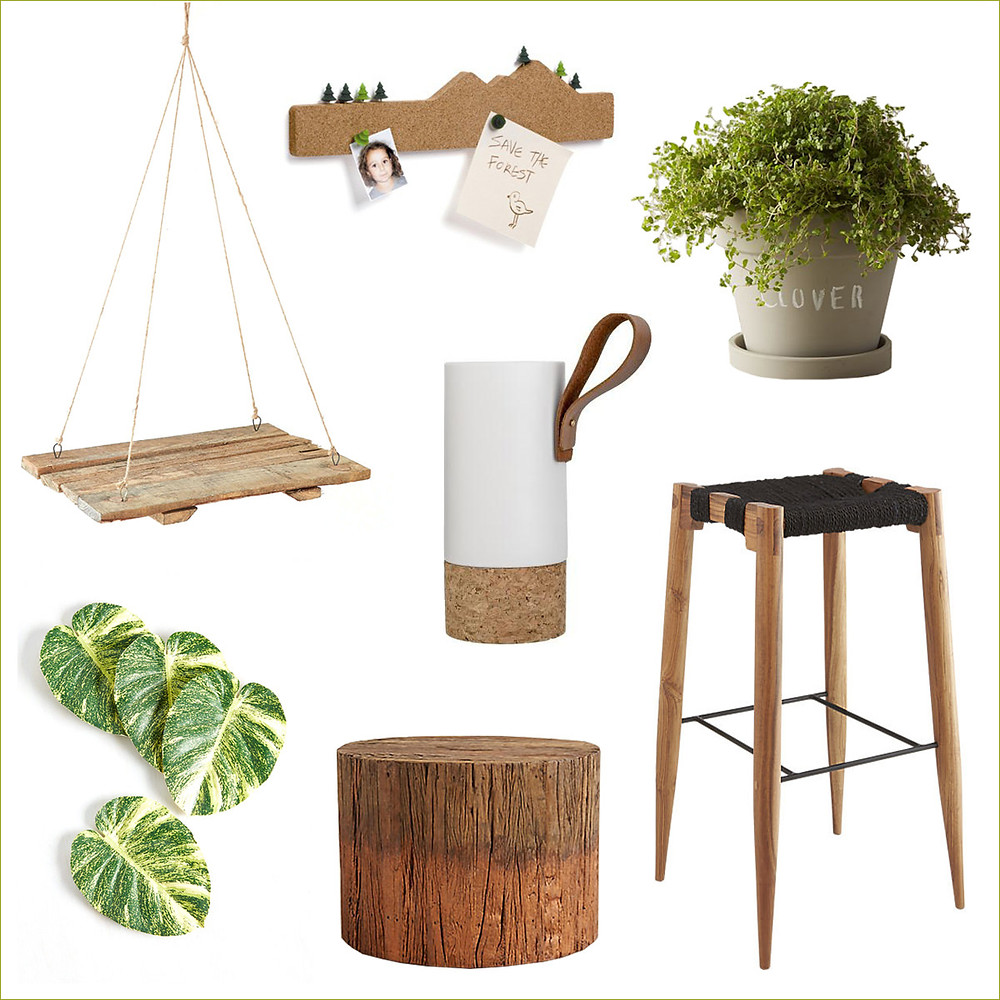 סטיילינג למרפסת בחומרים טבעיים