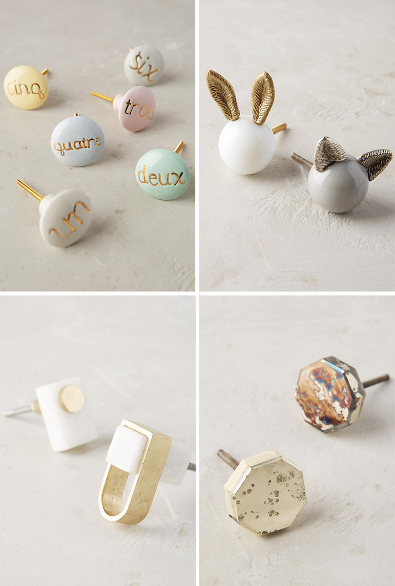 Anthropologie Knobs and handles