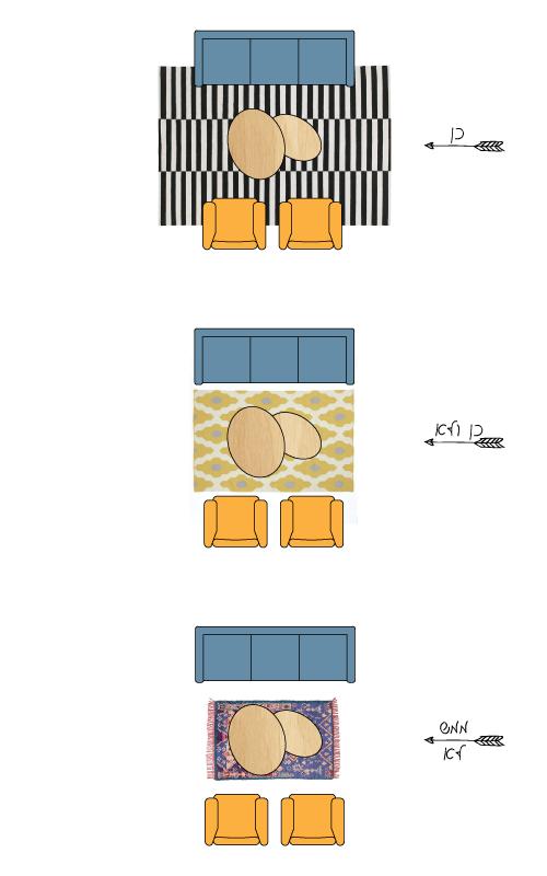 מה צריך להיות גודל השטיח