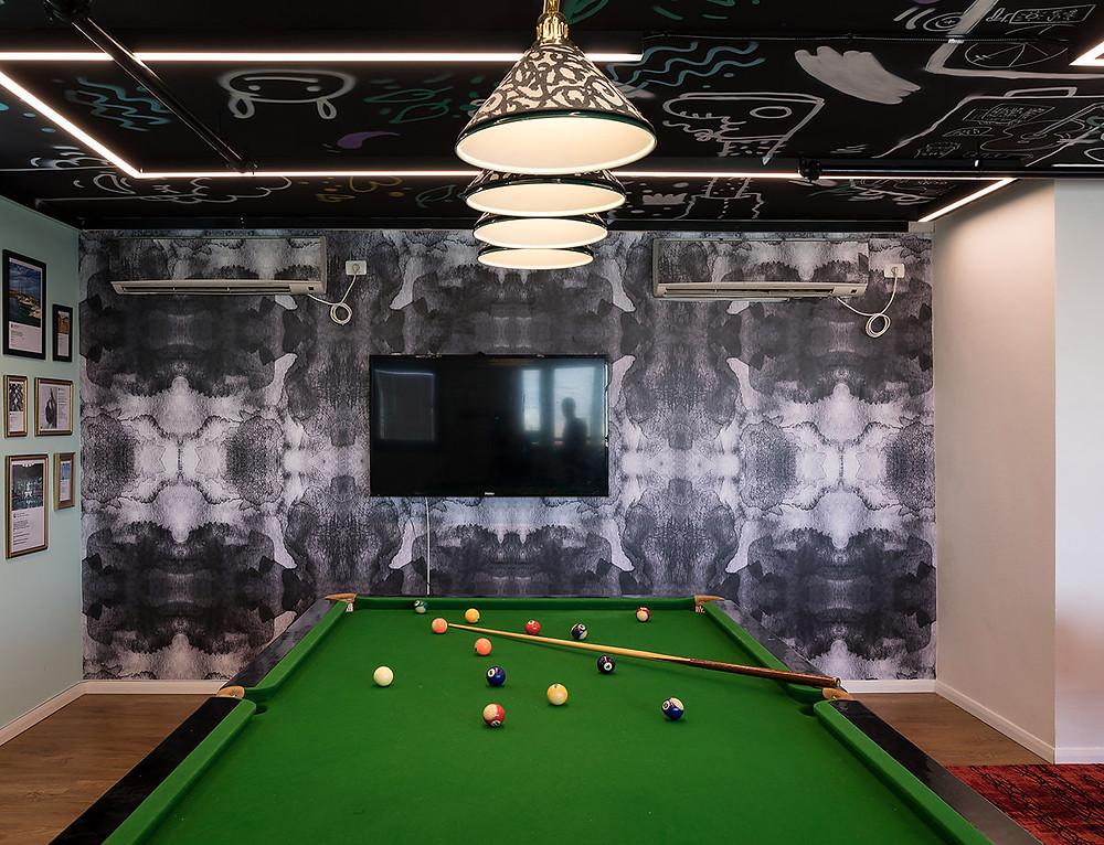 חדר המשחקים במשרדי רשת מלונות פתאל