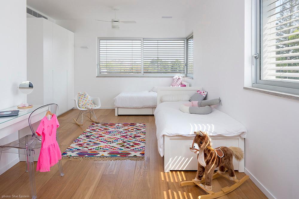 שטיח בחדר הילדים