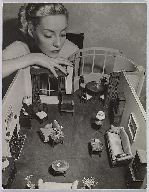 Model with Room Designed by Grace Meyercord, André Kertész