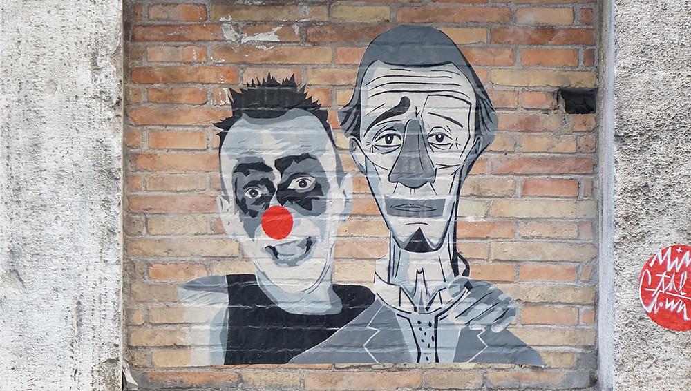 גם ברומא יש אמנות רחוב