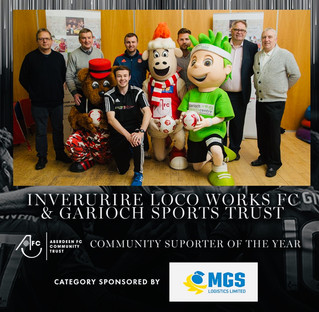 Community Supporter of the Year.