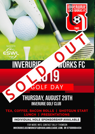 GOLF DAY SOLD OUT