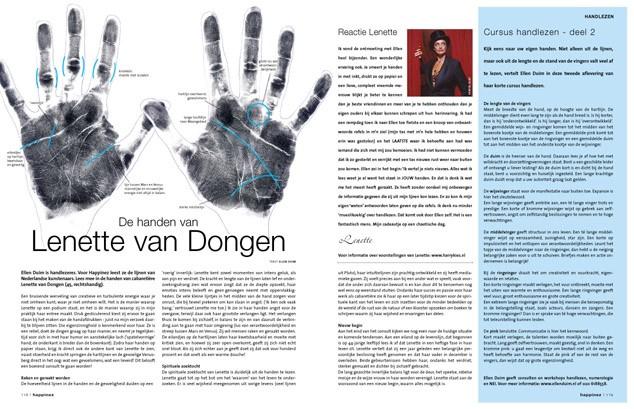 Happinez 2004 - Lenette van Dongen