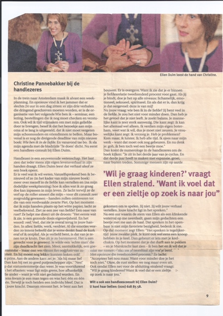 Ellen in Margriet 1998