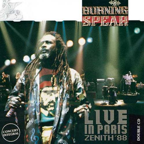 Burning Spear Live in Paris Zenith '88