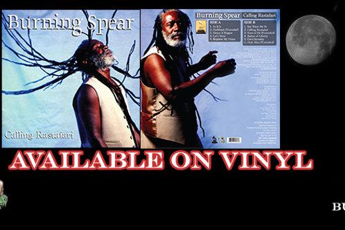 Burning Spear Calling Rastafari Vinyl