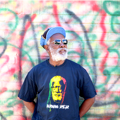 T-Shirt Burning Spear No Destroyer