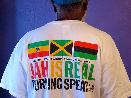 T-shirt Burning Spear Jah is Real Grammy Edition