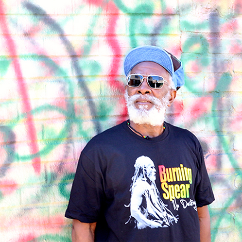 T-shirt Burning Spear No Destroyer Live