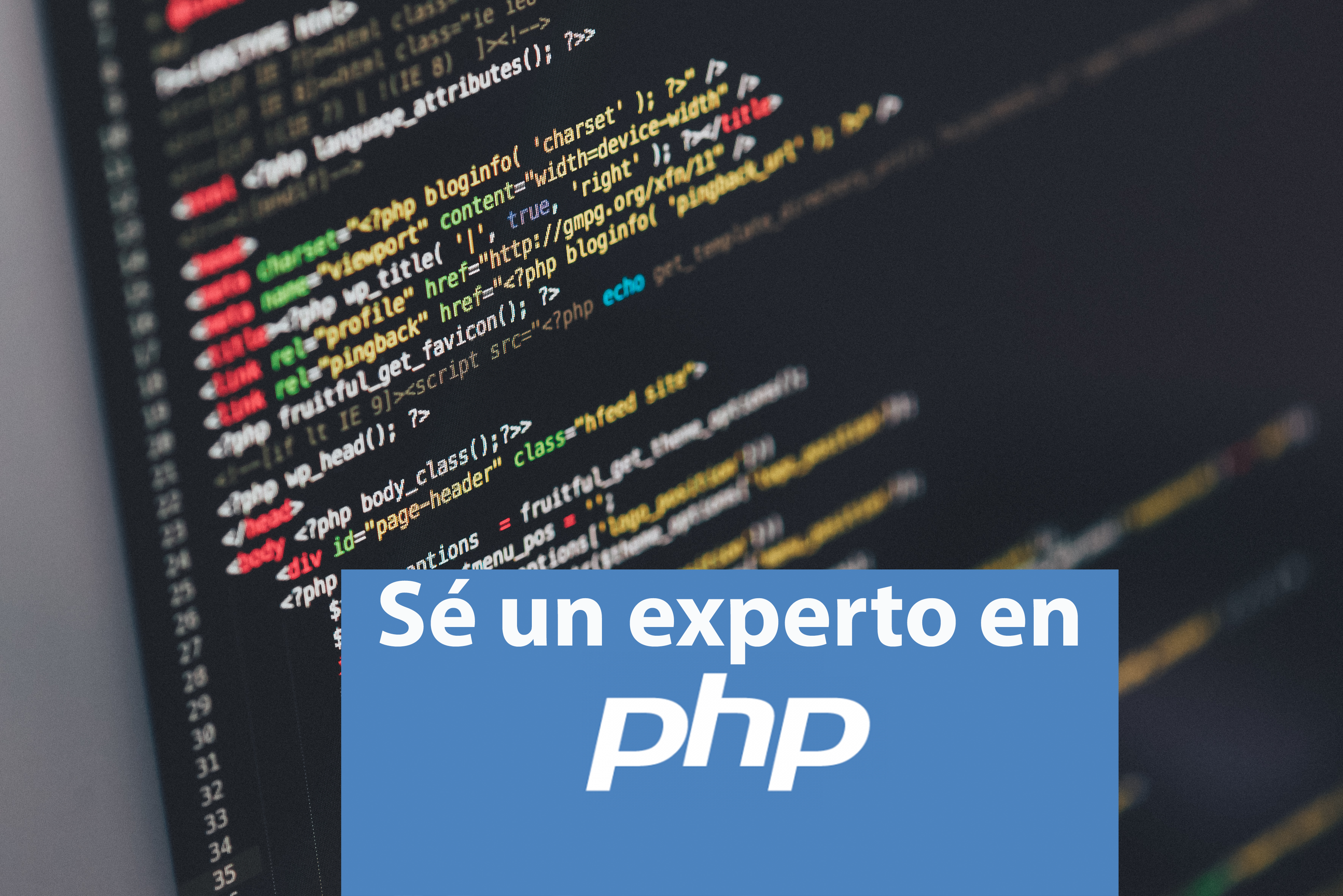 Sé un experto en PHP