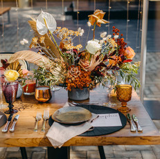 Long Table Dining Florals
