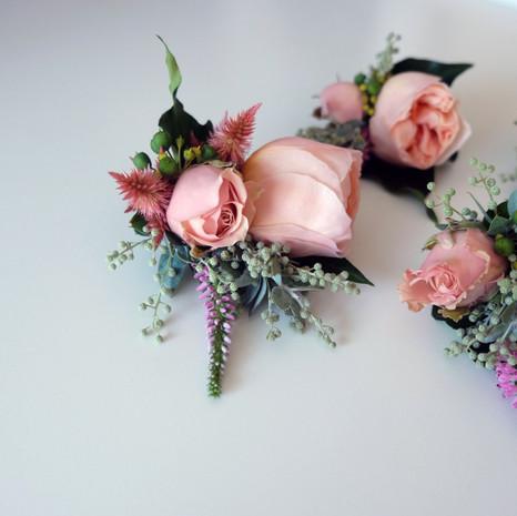 Bridal Party Buttonholes