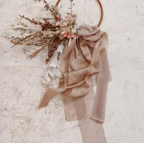 Bridal Bouquet Hoop