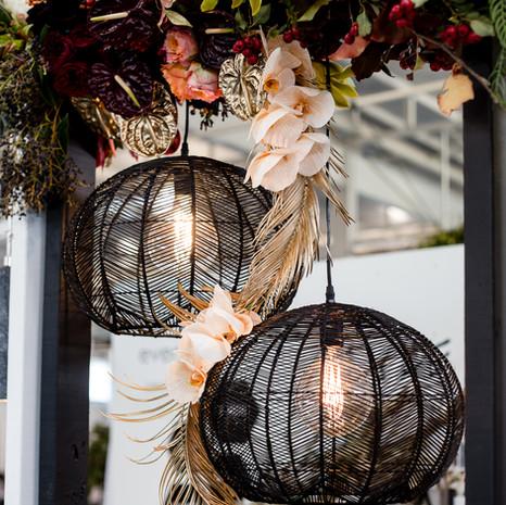 Floral & Light Installation