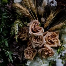 Bar Florals Prue & Brendan's Wedding