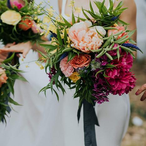 Gabi's Wedding Bouquet