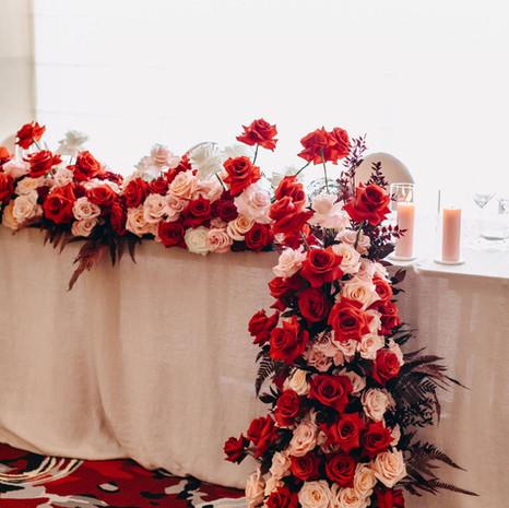 Ada & Jason Bridal Table