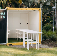 Curtin University Shipping Container Refurb_Workshop Pod 2021