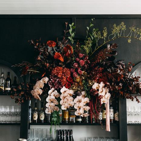 Bar Floral Installation