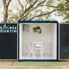 Curtin University Shipping Container Refurb_Study Pod 2021