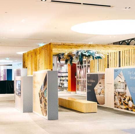 Karrinyup Shopping Centre Redevelopment Kiosk_AMP Capital 2020