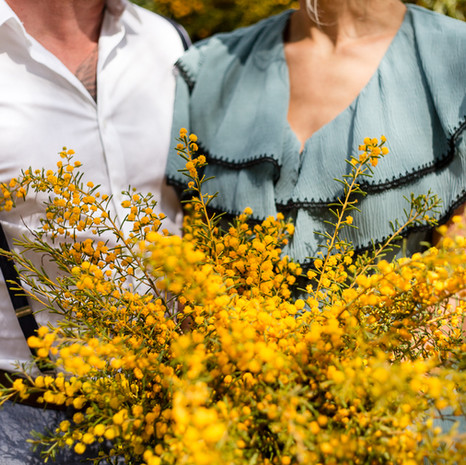 Wattle Bridal Bouquet