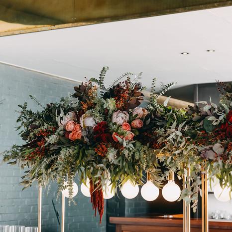 Bridal Table Installation