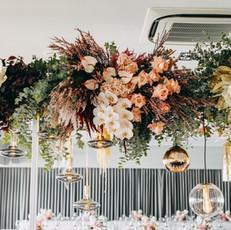Bridal Table Overhead