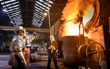Metal processing at the mill