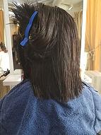 Salon B Volume Rebonding Short Hair Back