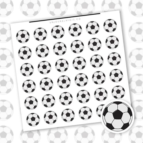 Soccer || 36 autocollants